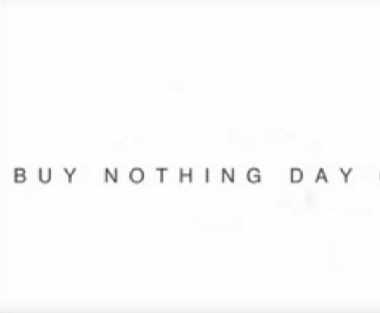 Día de No Comprar Nada (BND Buy Nothing Day)